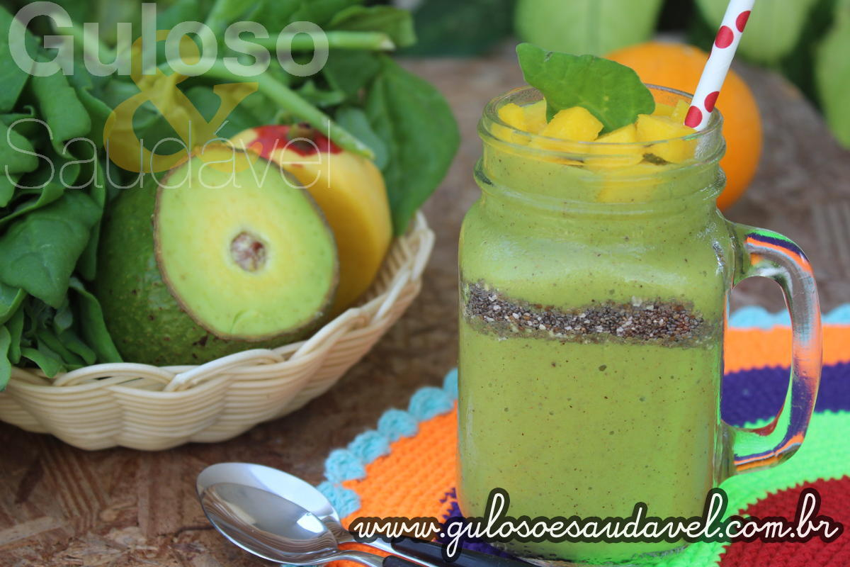 Smoothie Verde Tropical