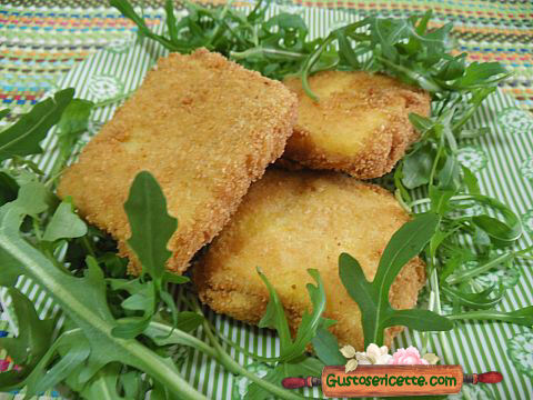 Polenta in carrozza fritta