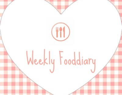 Weekly fooddiary week 38