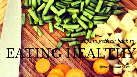 7 steps to getting back to eating healthy