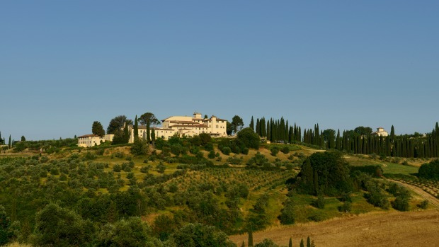 On review: gourmet Tuscany. Learn why the Italians love food and wine at Castello del Nero in Chianti