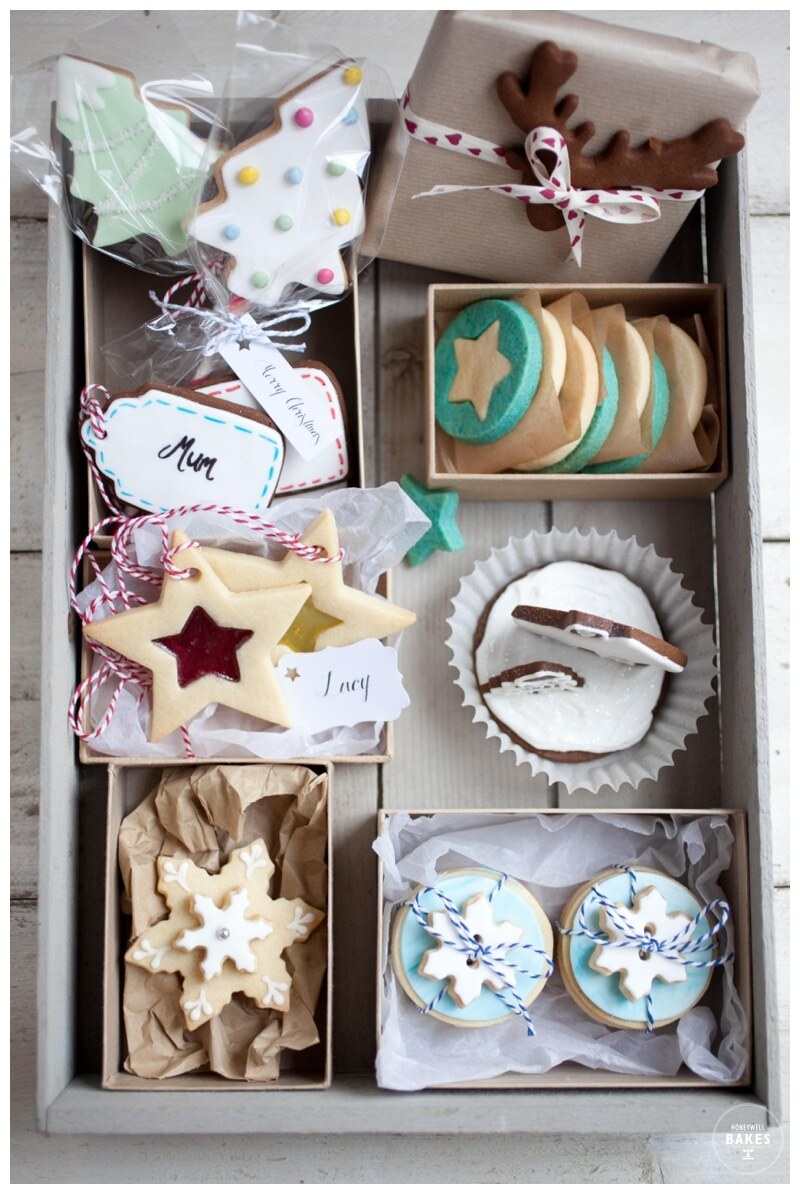 12 days of Baking Christmas – two colour star biscuits