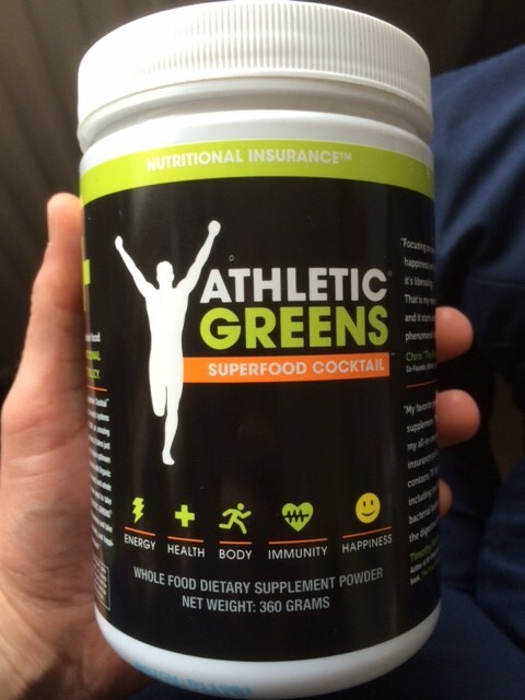Athletic Greens – My Favourite All-Round Supplement