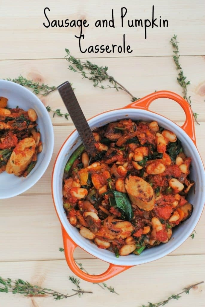 Sausage and Pumpkin Casserole