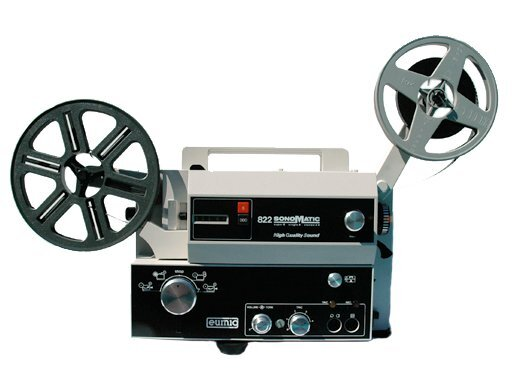 Hyr småfilmsprojektor