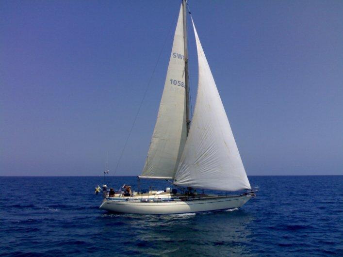 Segla Gecco i Medelhavet/Sicilien/Cefalu'