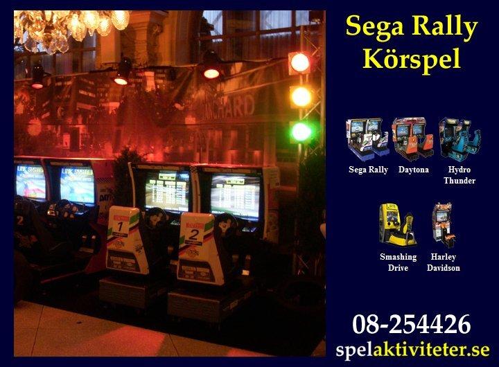 Körspel - Sega Rally