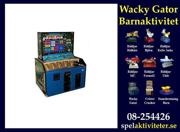 Barnaktiviteter - Wacky Gator
