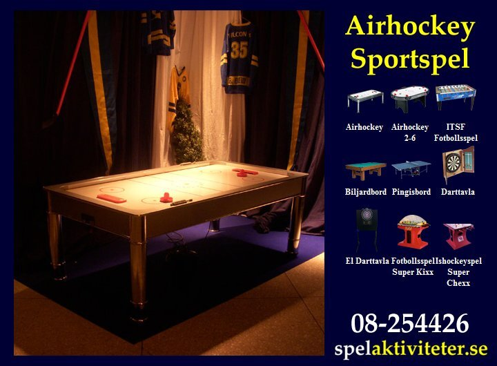 Sportspel - Air Hockey - Sportaktivitet