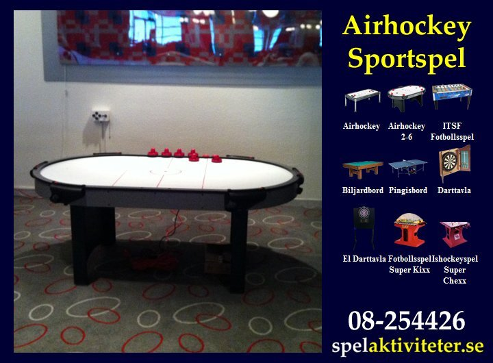 Sportspel - Air Hockey 2-6 - Sportaktivitet