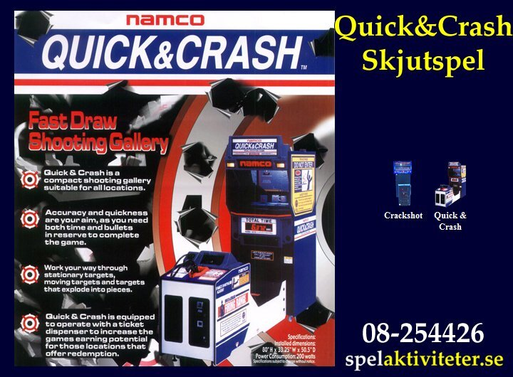 Skjutspel - Quick and Crash - Arkadspel