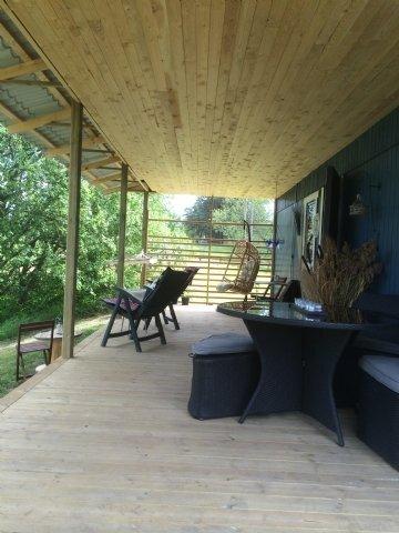 Naturområde, hundar, relax, badtunna