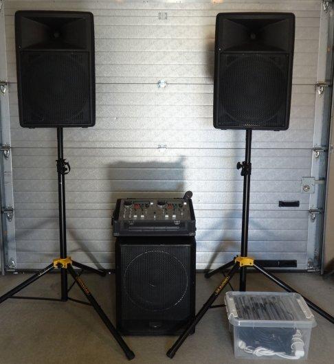 Hyra ljudanläggning till festen