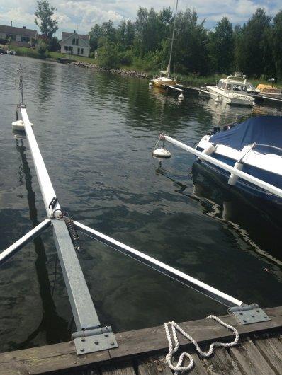 Båtplats nära stan med bra läge i skurusundet