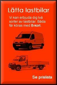 Hyra Lätt lastbil