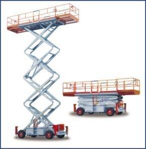 Uthyres Saxlift - Saxlift SkyJack 9250