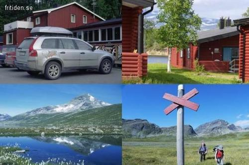 Fjällstuga Saxnäs Lappland