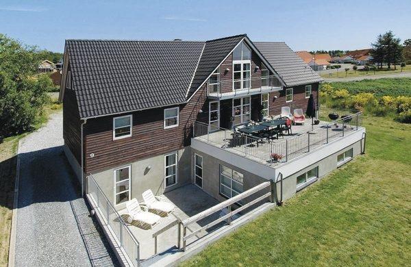 Semesterhus att hyra, Ebeltoft, Vibæk Strand, 24 bäddar, 429 m2
