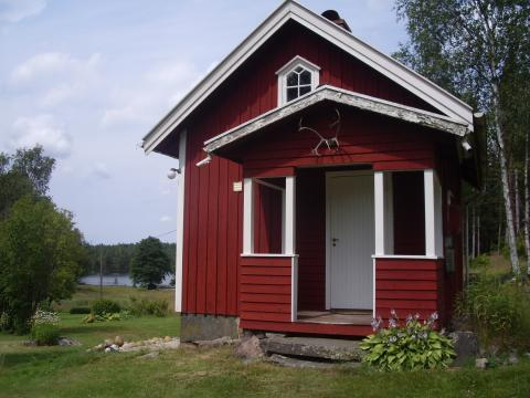 Mysig stuga nära sjö mellan Borås och Göteborg, Bollebygd, Västra Götaland - Uthyres