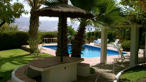 Rustic Villa /​ Cortijo, peace & tranquility, seaviews, private pool, NERJA, COSTA DEL SOL, Spain - Uthyres