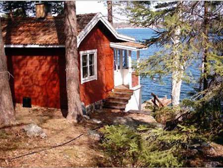 Skärgårdsstuga med sjötomt & egen brygga, Vaxholm, Stockholm - Uthyres