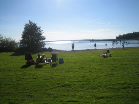 Strandbadets Camping & Stugby, Borensberg, Östergötland - Uthyres