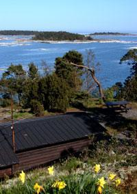 Stuga med fantastisk havsutsikt på Utö, Utö, Stockholm - Uthyres