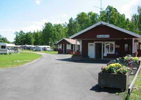 Mälarbadens camping - uthyrning stugor, platser för husvagn/husbil o tält, Torshälla, Södermanland - Uthyres