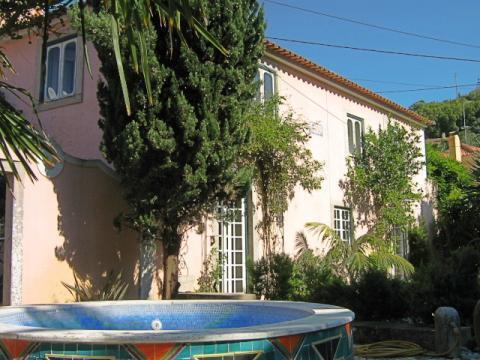 Hus för 8 personer med trädgård och liten pool, Sintra, Portugal - Uthyres