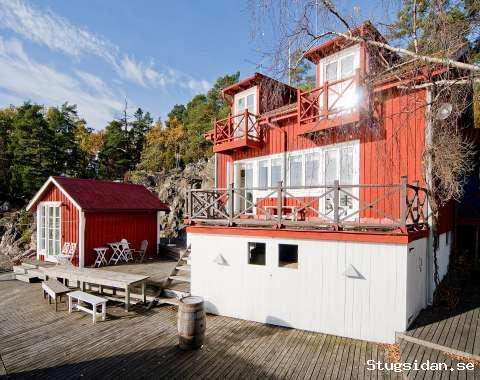 Underbart skärgårdshus på Viggsö, Värmdö, Stockholm - Uthyres