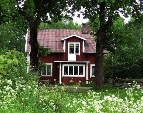 Hus mellan 2 sjöar i S Småland med båt, Bolmen/Ularp Ljungby, Kronoberg - Uthyres