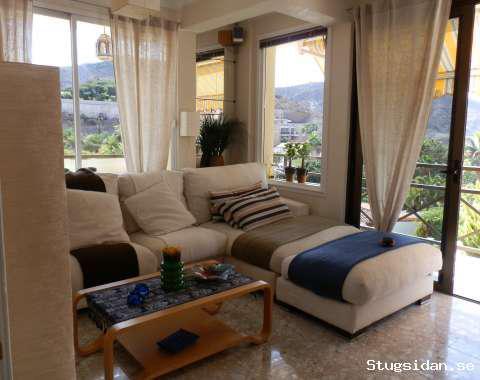 Ljus lägenhet med havsutsikt över Taurodalen, Tauro, Spanien - Uthyres