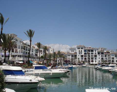 Lägenhet i sporthamnen Puerto Duquesa, Manilva, Costa del Sol, Costa del Sol, Spanien - Uthyres
