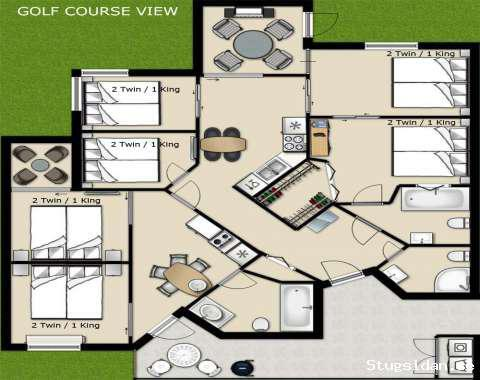 5 room Golf Villa closest to the clubhouse in PGA Village, PGA Village, United States - Uthyres