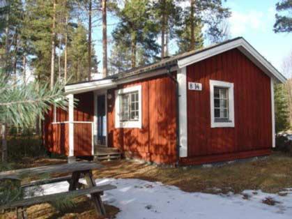 Liten stuga Sollerön nära bad i Siljan golf skidbacke, Sollerön Mora, Dalarna - Uthyres