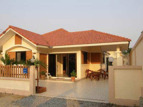 Strand- golfnära nybyggd villa i Bang Saray intill Jomtien, Pattaya., Bang Saray, Thailand - Uthyres