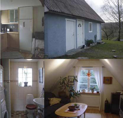Litet hus i trevlig miljö nära havet, Gränum, Blekinge - Uthyres