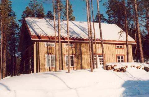 Nybyggd västerbottensgård, Björnriket, Jämtland - Uthyres