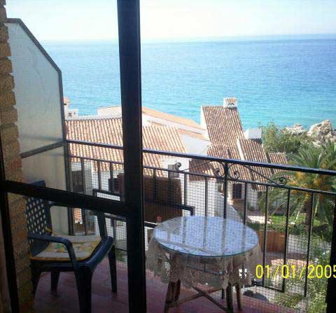 A124 fin och rymlig lägenhet med fantastisk bergs- och havsutsikt vid Burriana, Nerja, Spain - Uthyres
