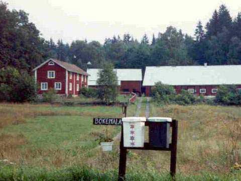 Idyllisk Sommargård i Blekinge vid sjö och underbar natur, Karlshamn, Blekinge - Uthyres