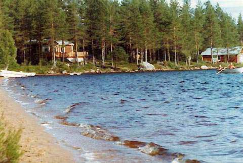 LAKE NISSÅNGEN - Strandtomt, sjöutsikt, båt & egen badstrand, bastu, Malung, Dalarna - Uthyres