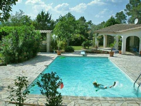 Pool Hus i Provence til leje, Le Thoronet, Frankrike - Uthyres
