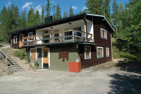 Björnrike. Fjällstuga med 2 separata lägenheter. Souterrängvåningen., Björnrike, Jämtland - Uthyres