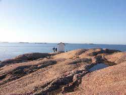 Skärgårdshus nära stranden i Lysekil/Kyrkvik, Lysekil, Västra Götaland - Uthyres