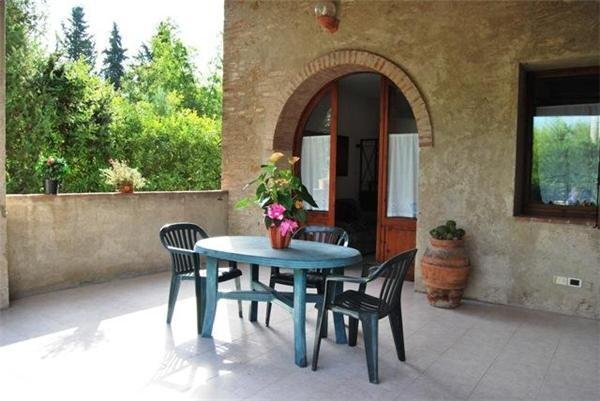 Lägenhet för 4 personer att hyra, Poggibonsi, San Gimignano, Italien