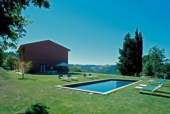 Semesterhus för 14 personer uthyres, Sarteano, Val d'Orcia, Italien