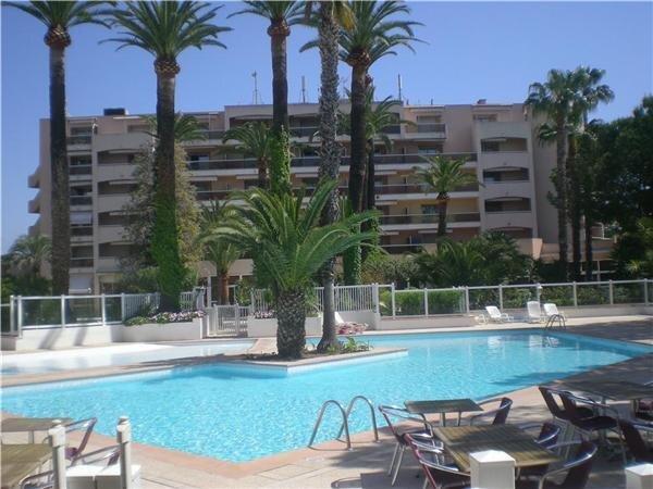 Lägenhet för 6 personer uthyres, Golfe Juan, Côte d'Azur, Frankrike