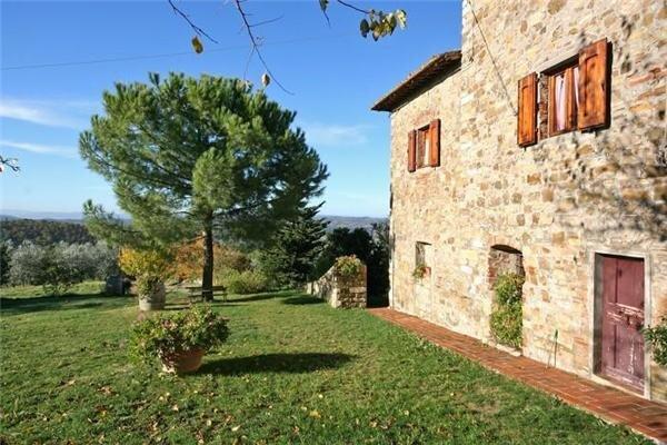 Semesterhus för 2 personer uthyres, San Donato in Poggio, Florentine Hills, Italien