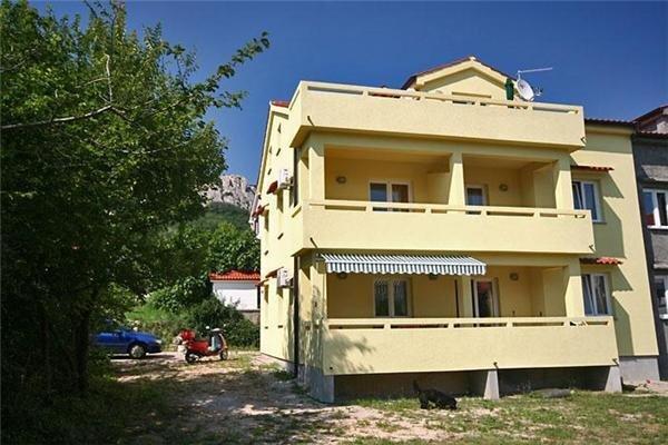 Lägenhet för 2 personer uthyres, Ba?ka, Baska, Kroatien