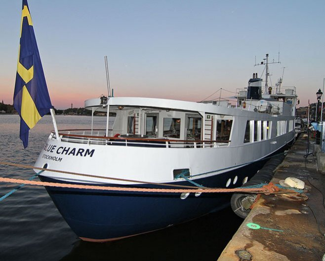 M/Y Charm - Båtcharter i Stockholms Skärgård!